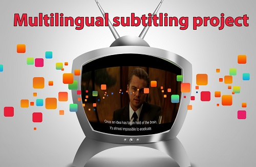 Multilingual subtitling project – 24 videos in 6 languages!