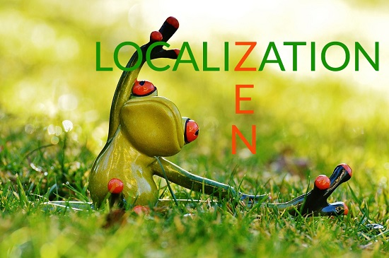 Localization and Translation the Zen Way