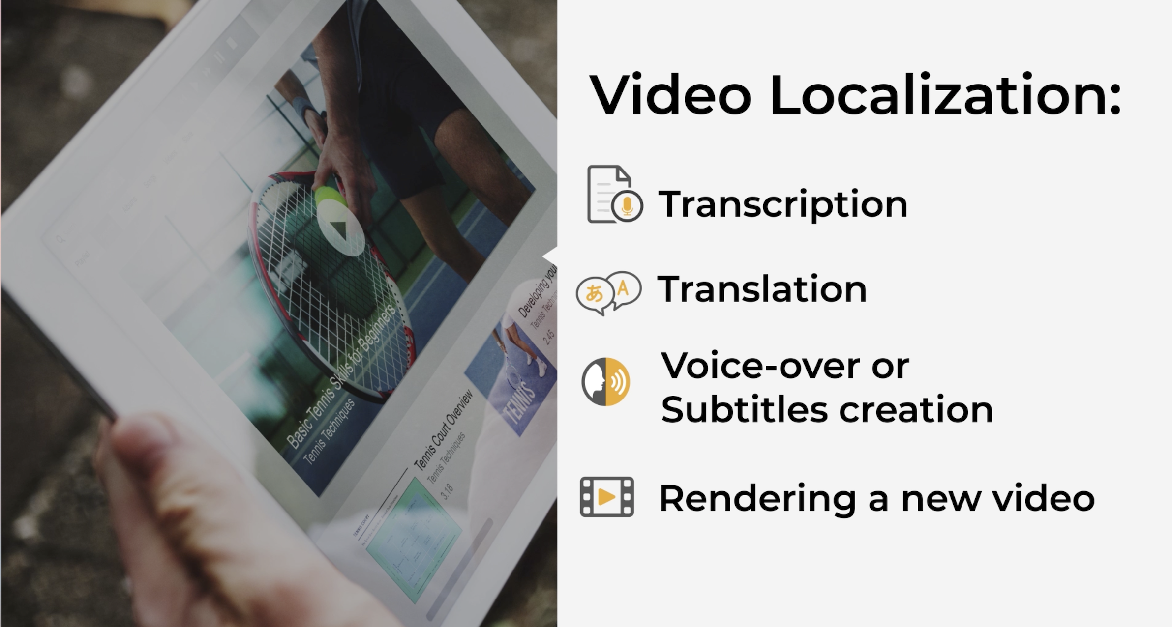 Importance of Transcription and Subtitles in Video Localization